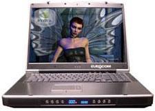 En gelişmiş notebook Eurocom D900T Phantom
