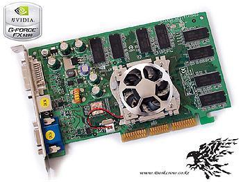 GeForce FX 5200: GeForce 4 MX 440 AGP8X ile aynı !?