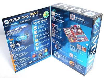 MSI 875P Neo-FIS2R anakart incelemesi