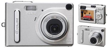 Casio EXILIM EX-Z3: 3.2 Mega Piksel Ultra Compact kamera