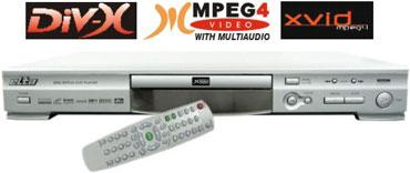 Standalone DVD/Divx/Mpeg4 Player yelpazesi genişliyor