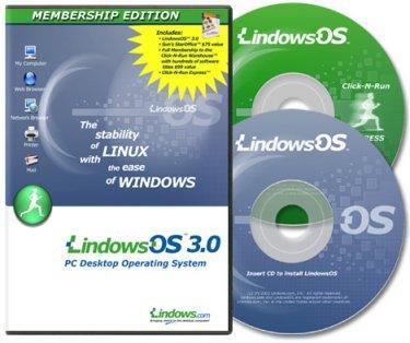 Lindows 3.0: Windows programlarını Linux altında çalıştırın