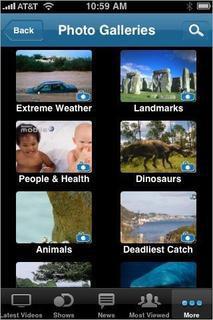 Discovery Communications'dan iPhone/iPod'a özel yazılım