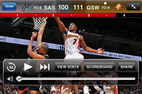 NBA maçları artık iPhone/iPod Touch ve G1'de izlenebilecek
