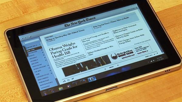 HP'nin tablet çözümü Slate detaylandı