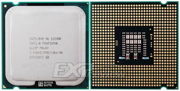 Intel'den ekonomi sınıfı hız aşırtma işlemcisi; Pentium E6500K