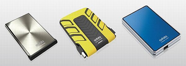 A-Data 640GB kapasiteli harici depolama sürücülerini tanıttı