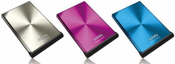 Computex 2009: A-Data Nobility NH92 serisi taşınabilir disklerini gösterdi