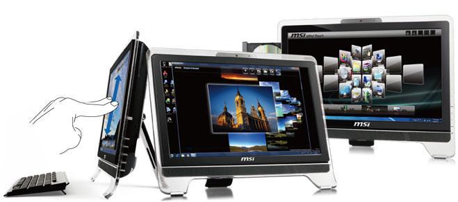 MSI'dan Multitouch destekleyen all-in-one masaüstü bilgisayarı: Wind Top AE2020