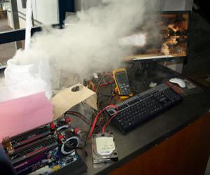 Ve AMD 7GHz'e ulaşarak hız aşırtma rekoru kırdı
