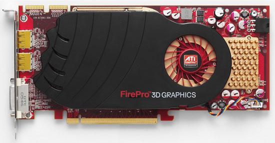AMD-ATi, FirePro serisi yeni grafik kartı V7750'yi duyurdu
