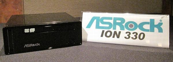 AsRock'ın, Nvidia ION tabanlı nettop sistemi görüntülendi