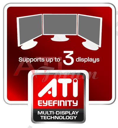 AMD'den DirectX 11  desteği ve Eyefinity teknolojisi için yeni logolar