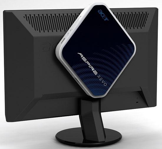 Acer Windows 7 yüklü AspireRevo nettop modelinin satışına başlıyor