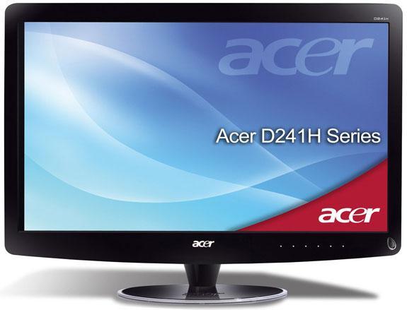 Acer WiFi donanımlı 24-inç monitörünü fiyatlandırdı
