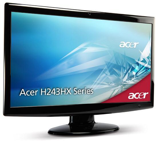 Acer 24-inç boyutundaki yeni monitörünü duyurdu: H243HXB