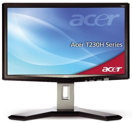 Acer 23-inç boyutundaki çoklu dokunmatik LCD monitörünü duyurdu