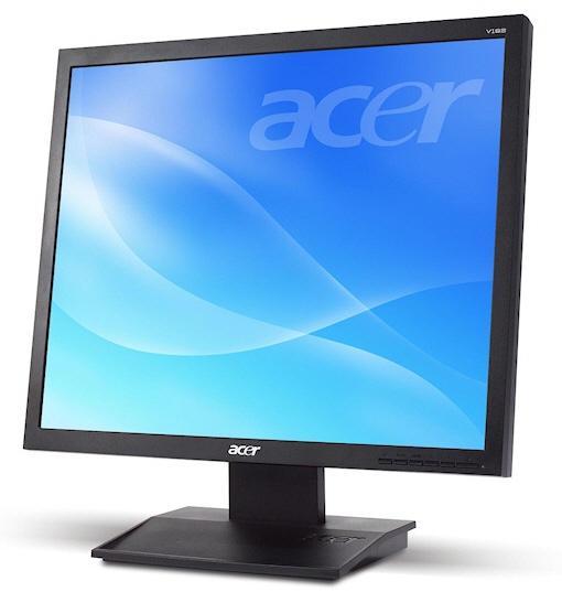 Acer düşük güç tüketimli iki yeni LCD monitörünü duyurdu