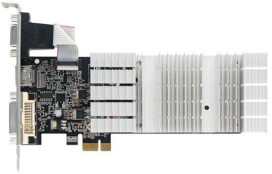 Albatron'dan mini-bilgisayarlar için PCIe x1 uyumlu GeForce G210