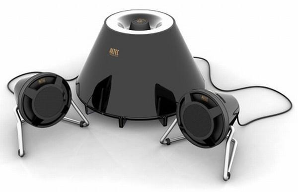 Altec Lansing'den tasarımıyla öne çıkan ses sistemi; Expressionist FX3021
