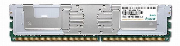 Apacer'den sunucular için 8GB kapasiteli DDR2 FB-DIMM bellek modülü
