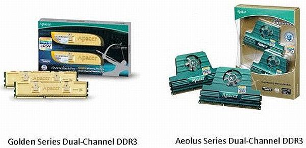 Apacer, Core i5 ve Core i7 serisi Intel işlemciler için 16 yeni DDR3 bellek kiti hazırladı