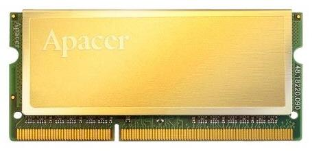 Apacer Golden serisi DDR2 ve DDR3 SO-DIMM belleklerini gösterdi