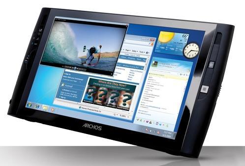 Archos'un Windows 7'li yeni tablet bilgisayarı Archos 9 22 Ekim'de geliyor