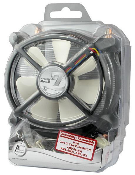 Arctic Cooling'den Core i5 destekli işlemci soğutucusu; Freezer 7 Pro Rev.2