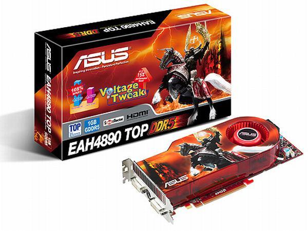 Asus'un Radeon HD 4890 modelleri Voltage Tweak özelliğiyle geliyor