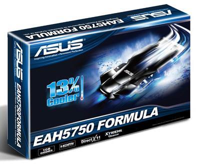 Asus'un Formula serisi Radeon HD 5750 modeli göründü