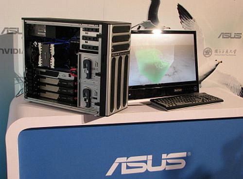 Asus'dan masaüstü PC formunda süper bilgisayar: ESC 1000