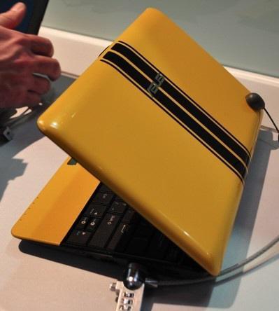 CeBIT 2010: Asus çocuklar için hazırladığı yeni netbook modeli Eee PC 1001PQ'yu tanıttı