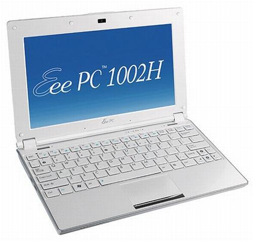 Asus'dan Atom N280 işlemcili netbook; Eee PC 1000H