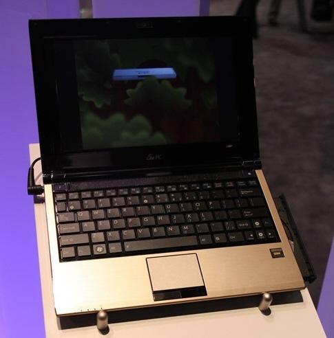 Asus optik sürücülü Eee PC modelini kullanıma sunuyor