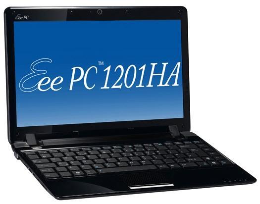 Asus Eee PC 1201HA, Amerika pazarına daha düşük konfigürasyonla giriyor