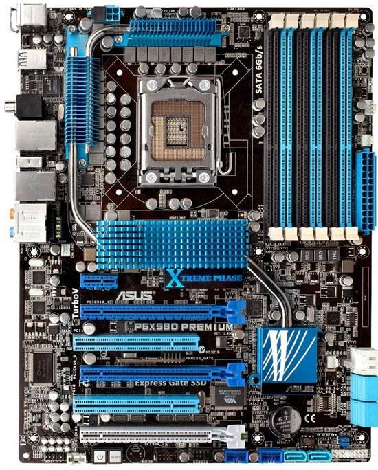 Asus 6 çekirdekli Core i9 işlemcilerle uyumlu X58 anakartlarını açıkladı