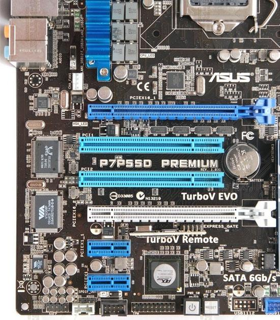 Asus'dan SATA-III destekli yeni anakart; P7P55D Premium