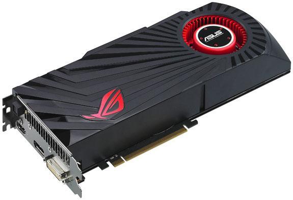 Asus, Radeon HD 5870 Matrix modelini detaylandırdı