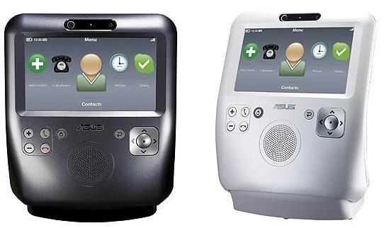Asus'dan Skype destekli ve dokunmatik ekranlı video-telefon