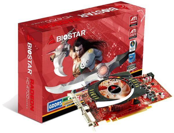 Biostar, Radeon HD 4770 modelini duyurdu