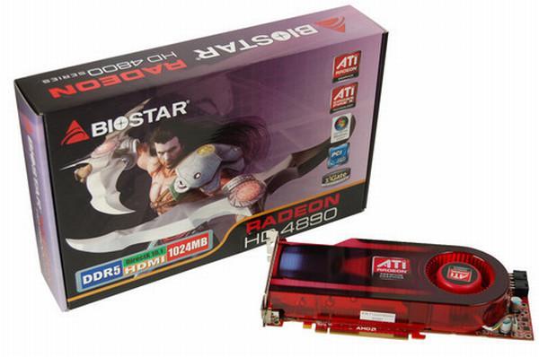 Biostar, Radeon HD 4890 tabanlı yeni ekran kartını duyurdu