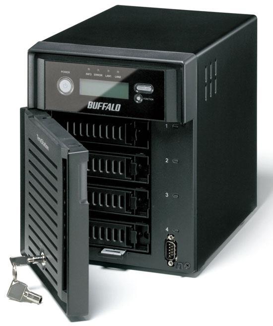 Buffalo'dan 2TB ve 4TB kapasiteli iki yeni ağ depolama sunucusu