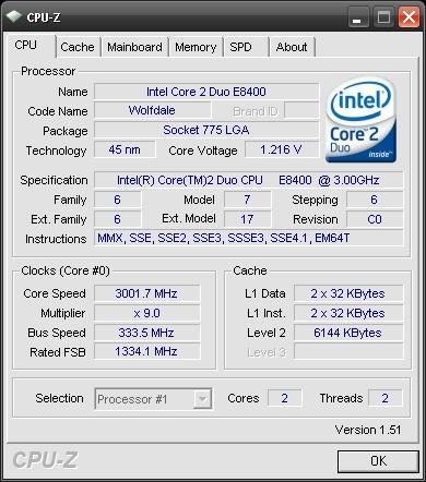 CPU-Z'nin 1.51 sürüm numaralı yeni versiyonu yayımlandı