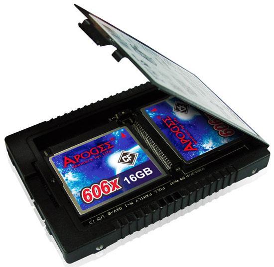 Walton Chaintech, Apogee SSD dönüştürücüsünü ve CF bellek kartlarını duyurdu