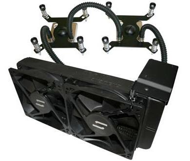 CoolIT'den çift işlemcili LGA1366 sistemler için yeni su soğutma çözümü; WS 240