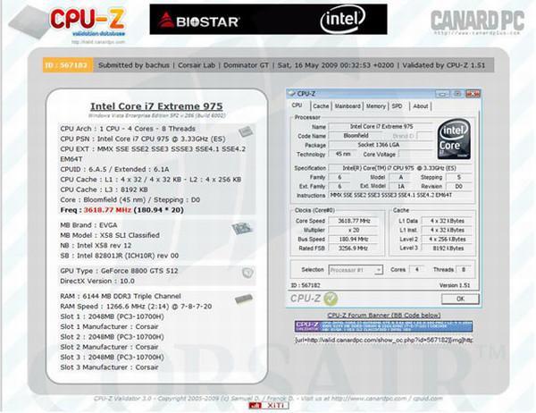 Corsair'in 6GB'lık DDR3 bellek kiti 2533MHz'e hız aşırtıldı