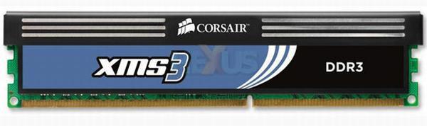 Corsair yeni nesil Intel işlemciler için XMS3 serisi DDR3 bellek kitleri hazırlıyor