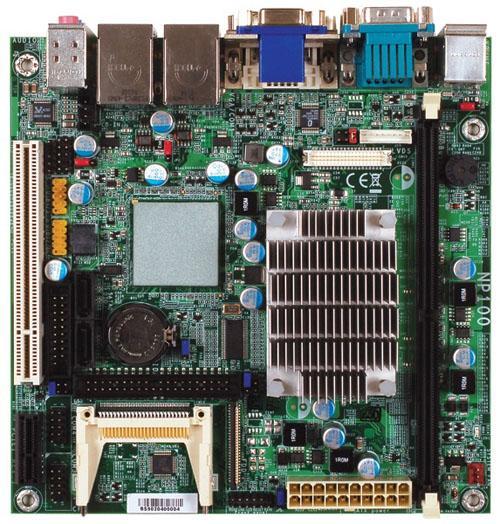 DFI Atom işlemcili mini-ITX anakartını tanıttı