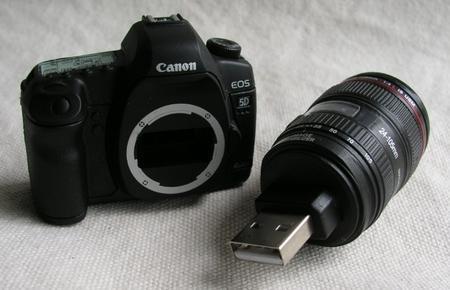 Canon EOS 5D Mark II tasarımlı USB bellek, E-Bay'de ortaya çıktı